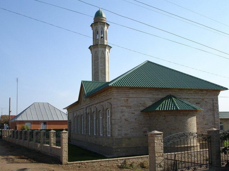 Orenburg oblast Kargala White mosque