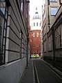 Ormond Close looking towards Boswell Street, London WC1 - geograph.org.uk - 398939.jpg
