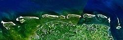 Chain of East Frisian Islands