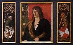 Albrecht Dürer: Portrait of Oswolt Krel