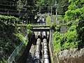Otaki hydroelectric power station (Saitama) penstock 2.jpg
