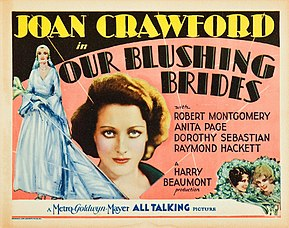 Description de l'image Our Blushing Brides lobby card.jpg.