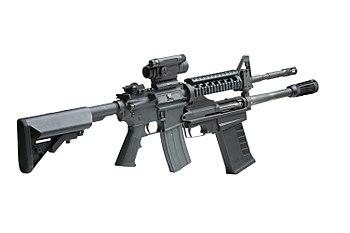 English: M26 12-Gauge Modular Accessory Shotgu...