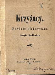 Krzyżacy Powieść Wikipedia Wolna Encyklopedia