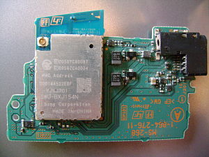 PlayStation Portable - The Wi-Fi Module with the Serial and Headphone Jack (TA-079)