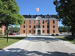 Rådhuset, sted for receptionen og for regionsfuldmægtigenes møder