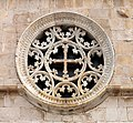 Pag Basilica of the Assumption of Mary rose window.jpg