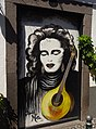 Painted door at Travessa das Torres (Funchal) (37388566174).jpg