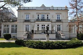 Ujazdów Avenue - Image: Palac Sobanskich Wwa Ujazdowskie