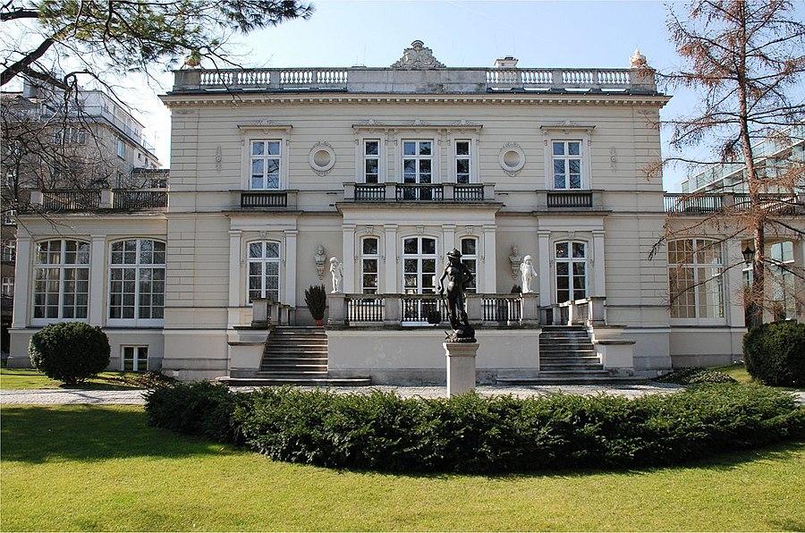 Sobański Palace in Warsaw