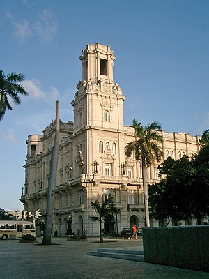 Spanish immigration to Cuba - The Palacio del Centro Asturiano building was created as place of social reunion for the Asturian immigrants