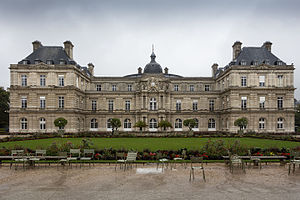 French Baroque architecture - Palais du Luxembourg in Paris, built between 1615 and 1620