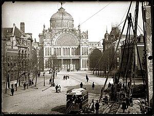 Expansion of Amsterdam since the 19th century - Paleis van Volksvlijt