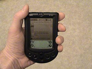 Palm (PDA) - The monochrome Palm m100
