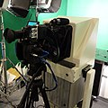 Panasonic AJ-PX270 Loaded on Sachtler Tripod Display at GBA 50th Anniversary Exhibition 20150926.jpg