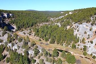 Panorámica cañón del río Lobos.JPG