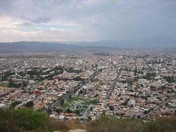 Panorama Cochabamba Bolivia