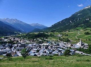 Termignon Part of Val-Cenis in Auvergne-Rhône-Alpes, France