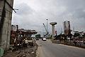 Parama-Park Circus Flyover Under Construction - Parama Island - Kolkata 2012-07-31 0520.JPG