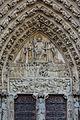Paris Notre-Dame Portail du Jugement Dernier Tympanon 01.JPG