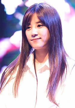 Park Chorong at Yeonsung University, 17 October 2014 02.jpg