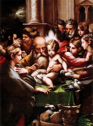 Circumcision of Jesus (Parmigianino) - Image: Parmigianino, circoncisione