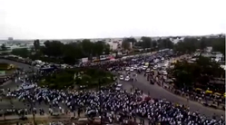 Patidar reservation agitation 25 August Ahmedabad rally.png