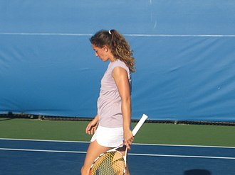 Patty Schnyder - Schnyder at the 2008 Pilot Pen Tennis tournament.