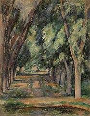 The Allée of Chestnut Trees at the Jas de Bouffan (L'allée des marronniers au Jas de Bouffan)