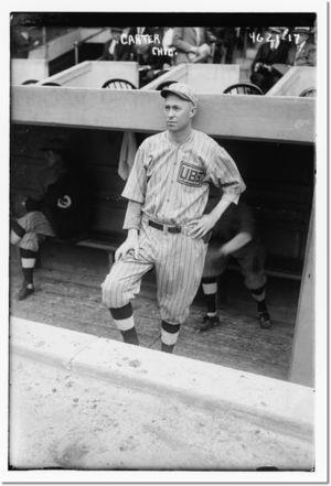 Paul Carter (baseball) - Image: Paul Carter cubs