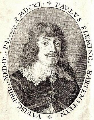 Paul Fleming (poet) - Image: Paul Fleming