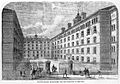 Peabody Square, Westminter. Dwellings for the poor. Wellcome L0001129.jpg
