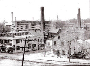 Peabody, Massachusetts - The former tanneries of Peabody