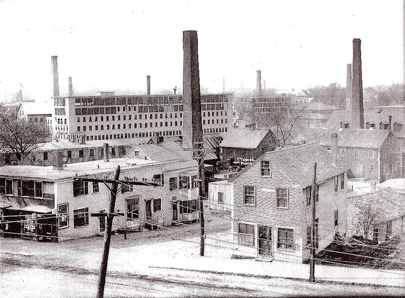 The former tanneries of Peabody