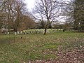 Peasenhall Cemetery - geograph.org.uk - 1740865.jpg