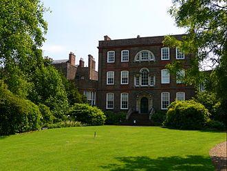 Alexander Peckover, 1st Baron Peckover - Bank House, Wisbech, the seat of Lord Peckover.