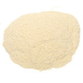 Pectin - Pectin, a bio polymer of (among other constituents) D-galacturonic acid, shown here in a powder form