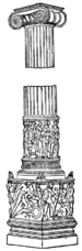 Columna caelata from the Artemision.