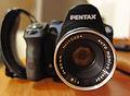 Pentax K-30 with a Mamya - Sekor 50mm f2 lens (front)..JPG