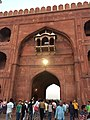 People moving out from exit gate- JAMA MASJID.jpg