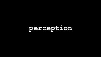 Perception (U.S. TV series) - Image: Perception intertitle