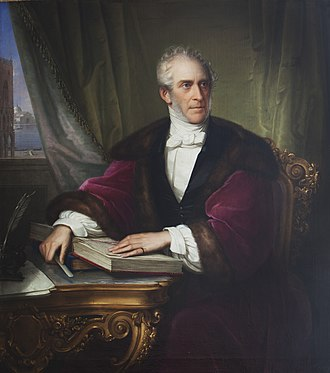 Gunby Hall - Peregrine Langton Massingberd (1780–1858), who married Elizabeth Mary Anne Massingberd and inherited Gunby Hall in Lincolnshire