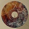 Periodo degli stati combattenti, disco a doppio anello, in nefrite, III secolo ac.jpg