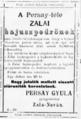 Persay-féle zalai bajuszpedrő reklámja, 1897.png