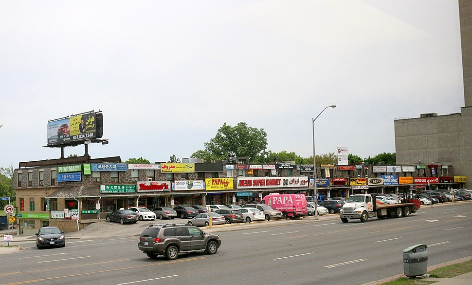 Persian Plaza - Yonge Street - Toronto 2014