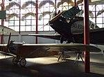 Petőfi Csarnok, Repüléstörténeti kiállítás, Lampich L-2 Róma és Junkers F 13b.JPG