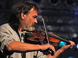 Peter Kschentz bei einem Auftritt der Klaus Renft Combo 2003