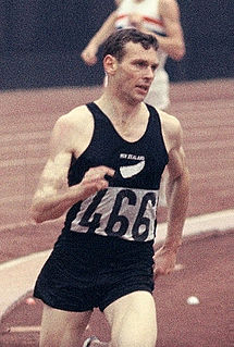 Peter Snell New Zealand middle-distance runner