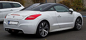 Peugeot RCZ - Facelifted Peugeot RCZ (Germany)