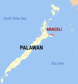 Araceli, Palawan Municipality in Mimaropa, Philippines
